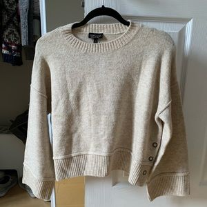 NWT Topshop Cropped Sweater